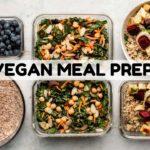 Healthy Vegan Meal Prep 🍴(Soy Free)