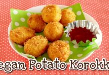 How to Make Vegan Potato Korokke (Japanese Croquettes Recipe) | OCHIKERON | Create Eat Happy :)