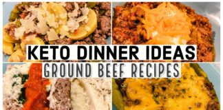 KETO DINNER IDEAS | Keto Ground Beef Recipes | Suz and The Crew