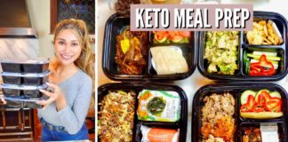 KETO MEAL PREP! Easy Lunch Ideas for Weight Loss & Fat Burning! Keto Meal Prep For The Week