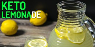 Keto Lemonade Recipe (1 net carb) | Sugar Free Lemonade | Superfood Lemonade