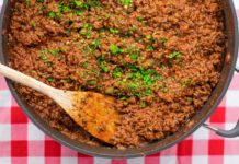 Keto Recipe - Bolognese Sauce - Very Easy to Make Low-Carb Ground Beef Dish