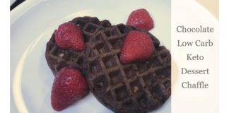Keto Recipes - Chocolate Keto Chaffle Recipe | Keto Waffles