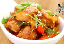 Keto Sweet & Sour Pork | Easy Chinese Takeout Recipe