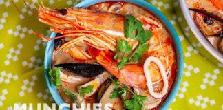 Make Tom Yum, A Hot & Sour Thai Noodle Soup |  Quarantine Cooking