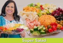 My Most Favorite Salad Bar with Homemade Ranch & Italian Dressing Recipe in Urdu Hindi - RKK