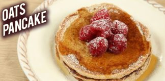 Oats Pancake | Healthy Banana Oatmeal Pancake | Eggless Pancake Recipe By Bhumika | Philips AirFryer