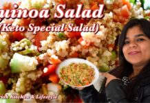 Quinoa Salad Recipe | Keto Salad Recipes | Quinoa recipes | Easy Weight loss Quinoa recipes | 2021