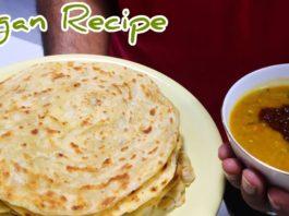 ROTI CANAI  PARATHA  Malaysian FLATBREAD  印度煎饼 - How to make [Vegan Recipe] Chef Dave