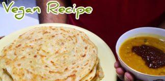 ROTI CANAI |PARATHA |Malaysian FLATBREAD |印度煎饼 - How to make [Vegan Recipe] Chef Dave