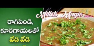 Ragi Veg Soup | Milets Magic | 17th March 2020 | ETV Abhiruchi