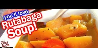 Rutabaga for Healthy Vegetable Soup Recipe