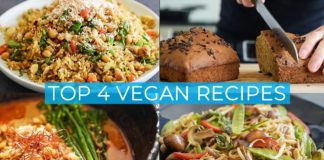 TOP 4 VEGAN RECIPES | EASY DISHES TO MAKE TODAY!