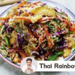 Ultimate 10 Minutes Thai Rainbow Salad | Healthy Everyday Superfood Salad सलाद | Kunal Kapur Recipes