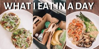 WHAT I EAT IN A DAY (EASY AND HEALTHY  RECIPES + GROCERY HAUL)