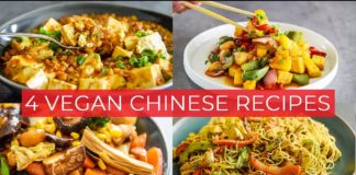 4 EASY CHINESE STYLE VEGAN RECIPES TO MAKE TODAY!