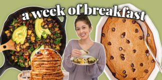 A WEEK OF *REALISTIC* VEGAN BREAKFASTS | 7 Yummy Recipe Ideas ☀️