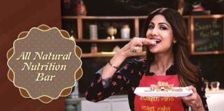 All Natural Nutrition Bar | Shilpa Shetty Kundra | Healthy Recipes | The Art Of Loving Food
