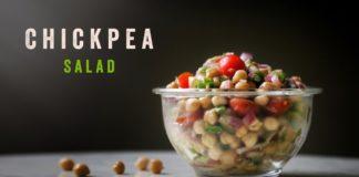 Chickpea Salad | Healthy High Protein Salad | Easy Salad Recipe @Cook' omania