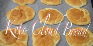 Easy 3 Ingredients Keto Cloud Bread in 2020 | Low Carb Life PH