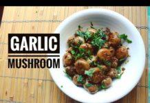 Garlic Mushroom : Easiest Vegan Recipe || How to make easy Mushroom Recipe || Easy Mushroom recipe