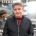 Gordon Ramsay Goes Vegan...for steak???
