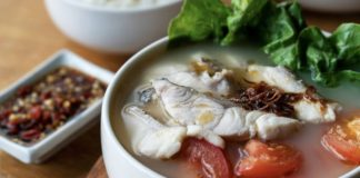 How to Cook No Milk Singapore Style Fish Soup - 鱼片 汤