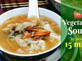 How to make Vegetable Soup | Healthy Vegetarian Soup Recipe | IMMUNITY BOOSTER