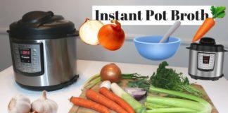 Instant Pot Veggie Broth! Easy Recipe