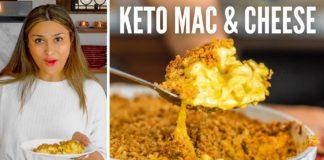 KETO MAC AND CHEESE 2 WAYS! How to Make Cauliflower Mac & Cheese + Low Carb Pasta Mac and Cheese!