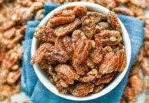 Keto Candied Pecans IN 10 MINUTES | Easy Low Carb Candied Pecans For Keto