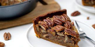 Keto Caramel Pecan Pie Recipe