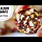 Khajur Burfi Recipe | Sugar-Free Khajur Dry Fruits Burfi (Hindi)