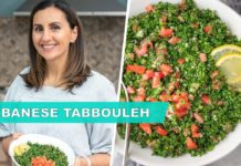 Lebanese Tabbouleh Salad | Great Ramadan Recipe!