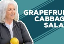 Love & Best Dishes: Grapefruit-Cabbage Salad Recipe