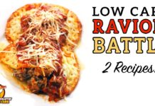 Low Carb RAVIOLI BATTLE - The BEST Keto Ravioli Recipe!
