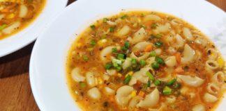 Macaroni Soup Recipe | मैकरोनी सूप | Soupy Macaroni | Soupy Pasta Recipe | Veg Macaroni Soup Recipe