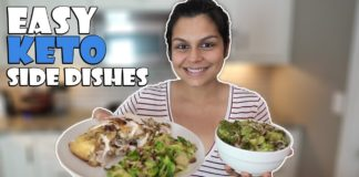 Our Favorite Keto Side Dishes | High Fat Veggies!