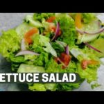 QUICK AND EASY LETTUCE SALAD RECIPE