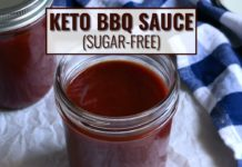 🛑  STOP buying high sugar barbecue sauce! Make this easy sugar-free recipe  ... in under 20 minutes!