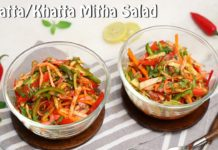 Tangy Kachumber Salad n Tangy Khatta Meetha Salad | Easy Salad Recipe | Chetna Patel Recipes
