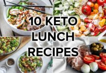 10 Keto Lunch Recipes That Are Easy & Satisfying