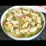 AVOCADO EGG SALAD RECIPE + Easy Dressing| healthy avocado and egg salad for weight loss