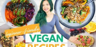 BEGINNER VEGAN RECIPES + TIPS (Plus 2 WEEK VEGAN CHALLENGE!)