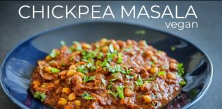 CHICKPEA MASALA RECIPE | HOW TO MAKE EASY VEGAN CURRY AT HOME | CHANA MASALA