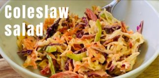 Coleslaw Salad recipe   Healthy Cabbage salad with Mayonnaise   How to make coleslaw salad
