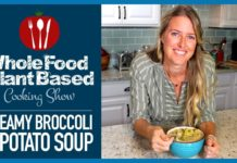 Creamy Plant Based Vegan Broccoli & Potato Soup to Warm Your Soul