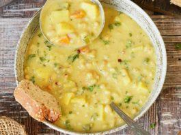 Creamy Vegan White Bean Soup (Easy Recipe)