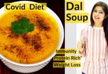 Dal Soup |  Covid Diet |  Lentil Soup |  Protein Diet |  Immunity Boosting Diet For Covid |  Weight Loss