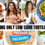 EATING LOW CARB TORTILLAS FOR 2 DAYS | EASY & DELICIOUS WAYS TO MAKE + DIRTY KETO!